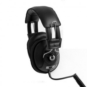 """Dynamic Stereo-Monaural Headphone with 1/4"""" Right Angle Plug"""