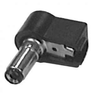 Right Angle 2.1mm Coax Power Plug