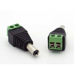 2.1mm Coax Power Plug to Terminal Block