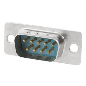 """9 Pin """"D"""" Solder Type Plug"""