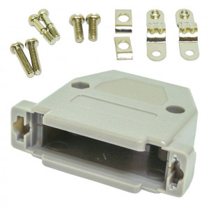 25 Pin Connector Metalized Plastic Hood
