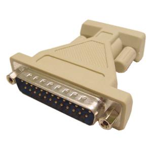 "25 Pin Plug to 9 Pin ""D"" Socket"