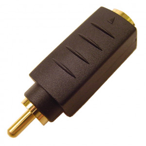 SVHS Jack to RCA Plug Adapter