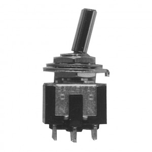 DPDT Sub-Miniature Toggle Switch, ON-ON