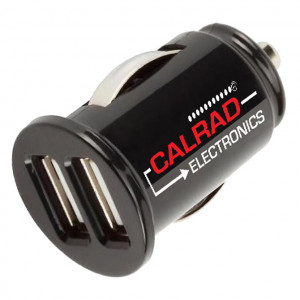 Two USB Ports Car Charger