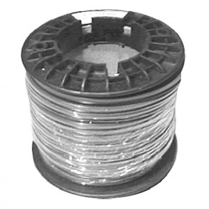 2 Conductor Stranded Hookup Wire, 16 Awg 50 Ft. Long