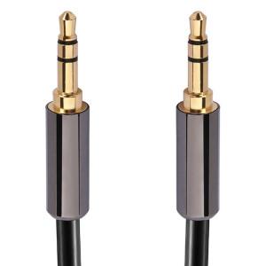 Stereo High Grade 3.5mm Plug to 3.5mm Plug, Gold Plated Plugs. 6 Ft. Long.
