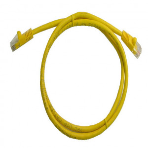 Yellow RJ45 Snagless Cable - 350 MHz CAT 5e, 25 Ft. Long