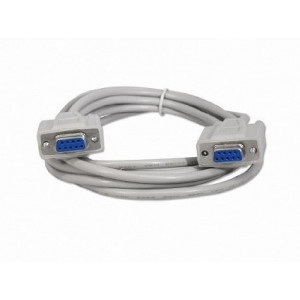 Serial (RS232) DB-9 Female to Female Cable, 3 Ft. Long