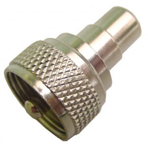 RCA Female to UHF Male Adapter