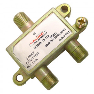 2 Way High Isolation Splitter, 90dB, 1GHz