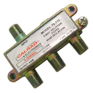 3 Way High Isolation Splitter, 90dB, 1GHz