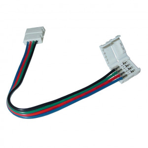 "RGB Flexible Coupler 4-Wire, 5""'long"