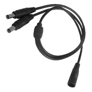 "1 x 2 Power Splitter Cable, 20"" long"