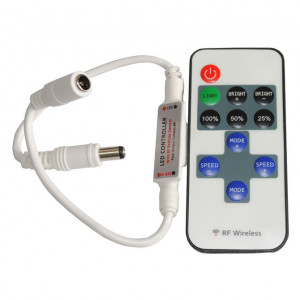 "L.E.D Lighting RF Control with Remote ""Single Color Only"" 6 Amp"