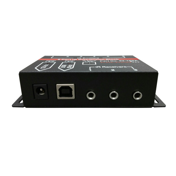 92-180A IR Receiver and Power Ports View