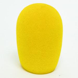 """Yellow Mic Windscreen for 1 3/8"""" - 1 3/4"""" Dia."""