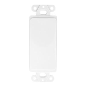 Blank White Plastic Insert