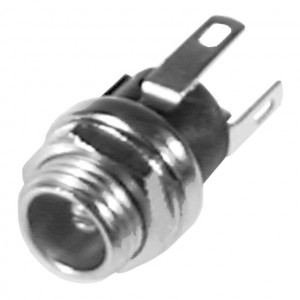 2.5mm Coax Power Jack, Chassis Mount