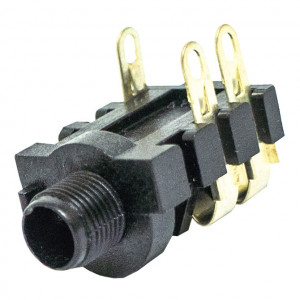 """1/4"""" Stereo Jack, 2 Conductor Close Circuit"""