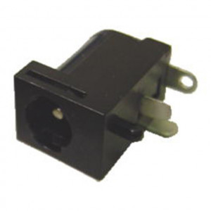 Locking 2.1mm Coax Power Jack, Circuit Mount