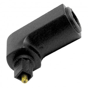 Right Angle Fiber Optic Adapter