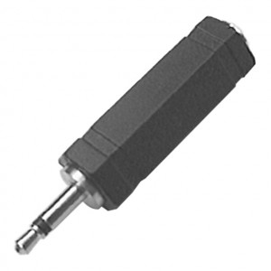 "1/4"" Stereo Jack to 3.5mm Mono Plug Adapter"