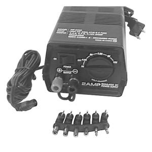 Multi- Voltage 2 Amp Regulated Power Supply