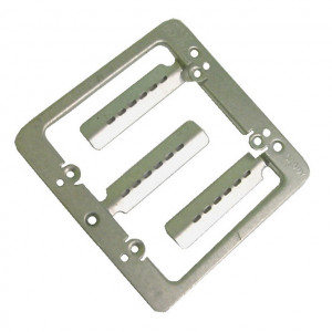 Dual Gang EZ Mount Bracket with Screws