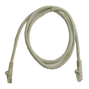 Grey RJ45 Snagless Cable - 1 GHz CAT 6, 5 Ft. Long