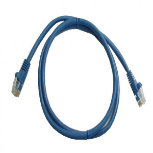 Blue RJ45 Snagless Cable - 1 GHz CAT 6, 50 Ft. Long