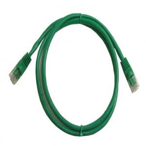 Green RJ45 Snagless Cable - 1 GHz CAT 6, 50 Ft. Long