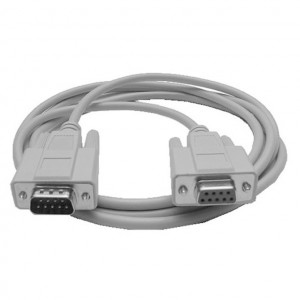 Serial (RS232) DB-9 Male to Female Cable, 6 Ft. Long