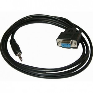 72-198,  DB-9 Female Serial Port to 3.5mm Male Stereo Cable