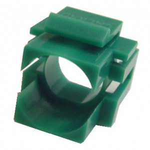 Green Recessed Keystone, Blank Insert