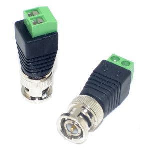 75-549-T BNC Male to  Solderless Two Terminal Adapter