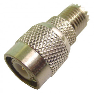 Mini UHF Female to TNC Male Adapter