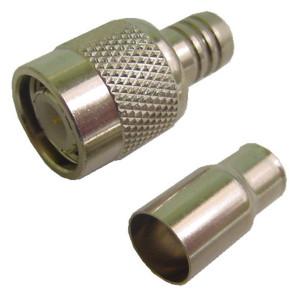 TNC Crimp-On Plug for RG-59
