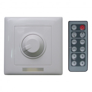 "12 Key Dimmer with Remote ""Single Color Only"""