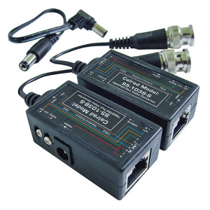CCTV Balun Video and Power (Pair)