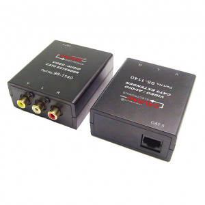 Small Compact Composite Video and Audio Balun (Pair)