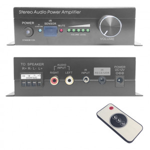 IR Controlled 30 Watt Stereo Digital Amplifier
