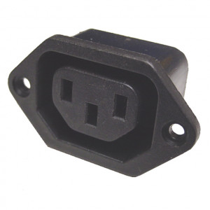 Chassis Mount AC Female Socket