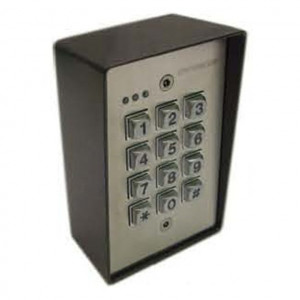 Heavy Duty Access Control Key Pad with Illuminated Buttons