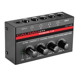 15-139 4 Channel Stereo Headphone Amplifier