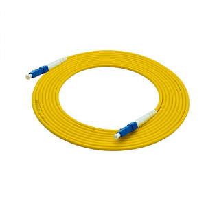 55-690-50, 50 ft. LC Male to Male Simplex, 2mm, OFNR Fiber Optic Cable