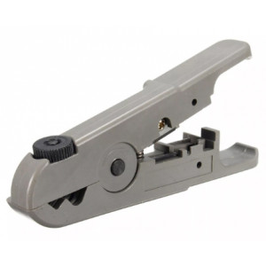 Universal Wire Cutter, Cable Stripping Tool for (Coax Cable, Speaker Cable, Cat5e, Cat6 Cable)